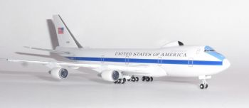 Boeing 747 E4B Nightwatch USAF US Air Force Herpa Collectors Model Scale 1:500 529266-001 E